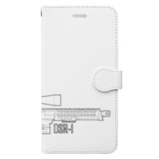 スナイパーライフル Book-style smartphone case