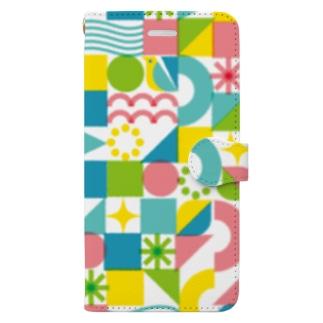 キラキラ Book-style smartphone case