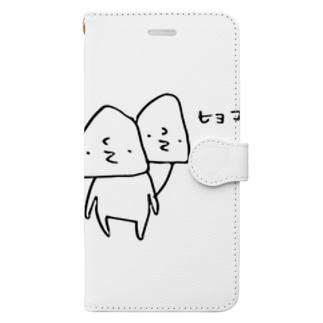 ひょっこり Book-style smartphone case