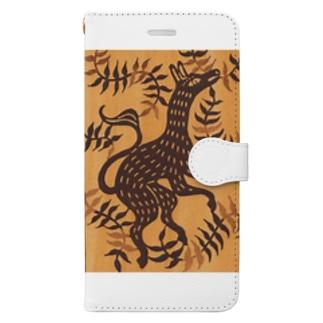 けもの Book-style smartphone case