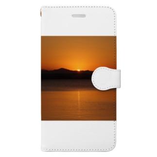 初日の出2019 Book-style smartphone case