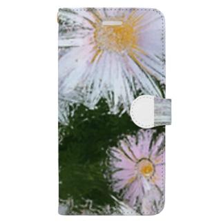 花 Book-style smartphone case