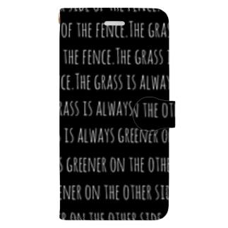 英語の慣用句的なもの Book-style smartphone case