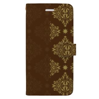 デザイン壁紙 Book-style smartphone case