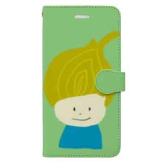 タマネギ坊や Book-style smartphone case