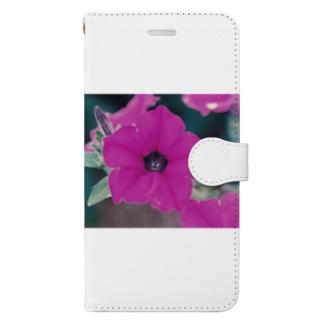 パープリッシュ ラヴ Book style smartphone case