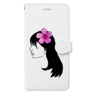 華子さん Book-style smartphone case
