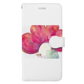 トサカサク Book-style smartphone case