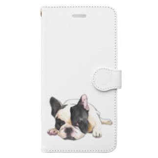 Vanilla Book-style smartphone case