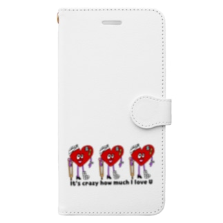 LOVE★LOVE Book-style smartphone case