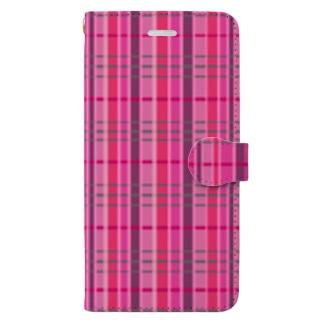 チェック 要チェックや~! Book style smartphone case
