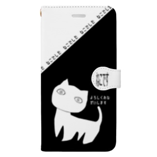 SCP-040-JP ねこですよろしくおねがいします(iPhone 6plus、6s plus、7plus、8plus) Book-style smartphone case