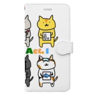 neko-s Act.1 Book-style smartphone case