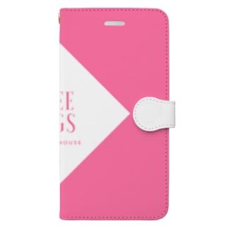 FREE HUGS(フリーハグ)【ダイヤ】 Book-style smartphone case