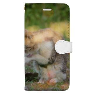 初夏。 Book style smartphone case