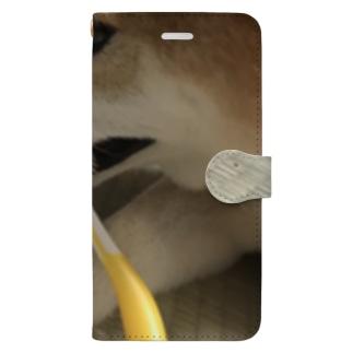 048style、はなちゃんの歯みがき Book-style smartphone case