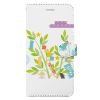 かささぎの Book-style smartphone case