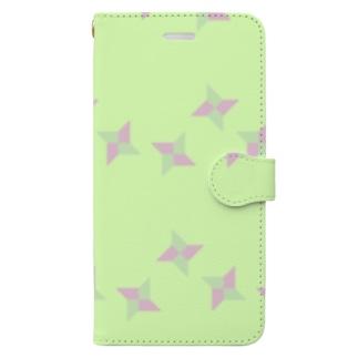 しゅりけん Book-style smartphone case