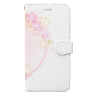 さくら2 Book-style smartphone case