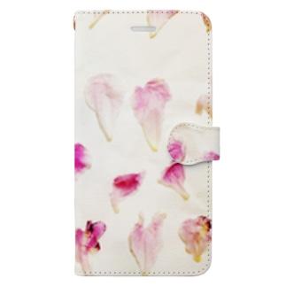 ハナビラ Book-style smartphone case