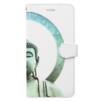 眠たいオトコのTKOKDAIBUTU Book-style smartphone case