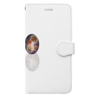 朝と夕方のコレクション Book-Style Smartphone Case