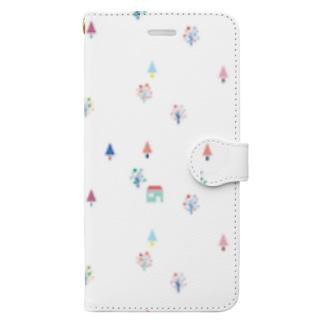色の森 Book-style smartphone case