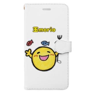 キスマイ大好き玉morio君 Book-style smartphone case