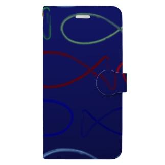 ふかくふかく Book-style smartphone case