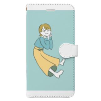 ぱすてるちゃん Book-style smartphone case