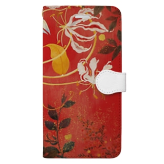 Flowers Book-style smartphone case