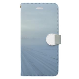 自然 Book-style smartphone case