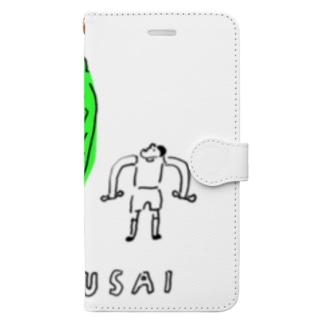 HAKUSAI Book-style smartphone case