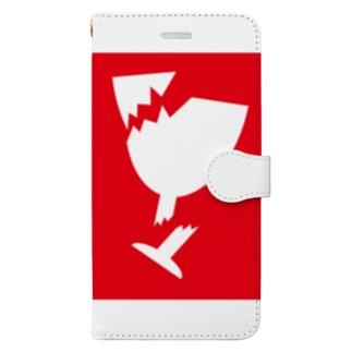 取扱い注意 Book-style smartphone case