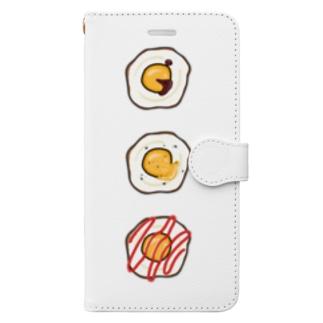 たまご戦争 Book-style smartphone case