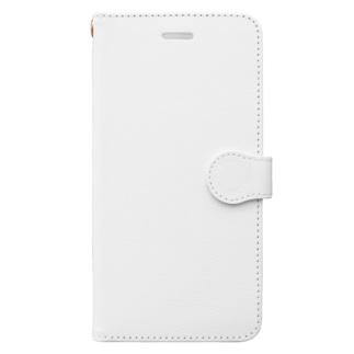レオパードゲッコーロゴグッズ Book-style smartphone case