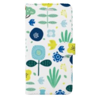 北欧手帳型スマホケース Book-style smartphone case
