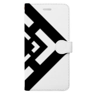 四角 とびら Book-style smartphone case