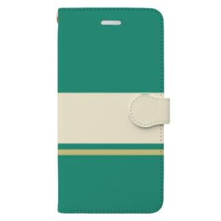 【青ブタっぽい】江ノ電1000形1051号車っぽい Book-style smartphone case