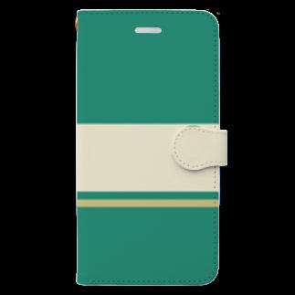 もろっこレーシングの【青ブタっぽい】江ノ電1000形1051号車っぽい Book-style smartphone case
