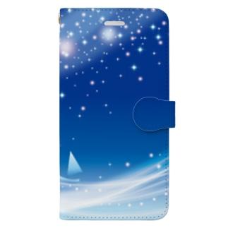 夢の通ひ路 Book-style smartphone case