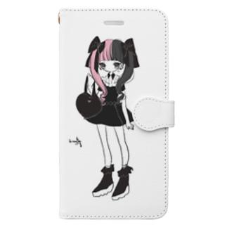 ついんてーる Book-style smartphone case