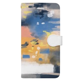 憧れにもがく Book-style smartphone case