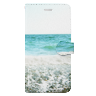 tomothのearly summer Book-style smartphone case