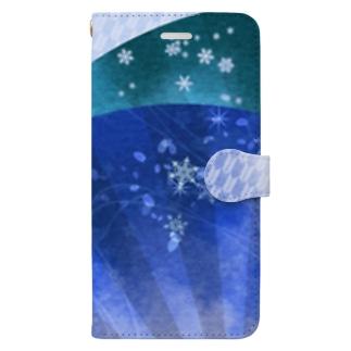 扇子 Book-style smartphone case
