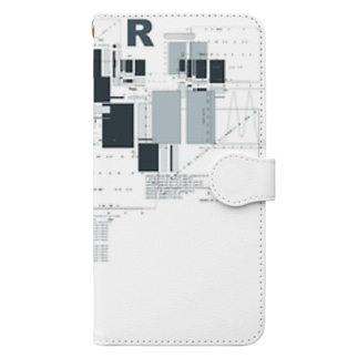 R Book-style smartphone case