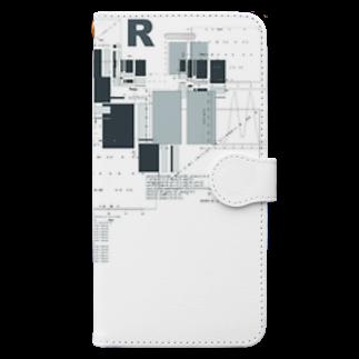 TEALのR Book-style smartphone case