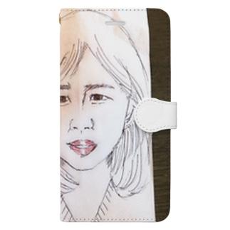 後輩さん Book-style smartphone case