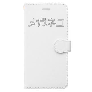 メガネコ Book-style smartphone case