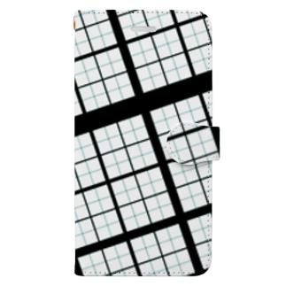 見た目頑丈そうな Book-style smartphone case
